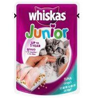 Whiskas Junior Tuna 85 gms x 24 pcs