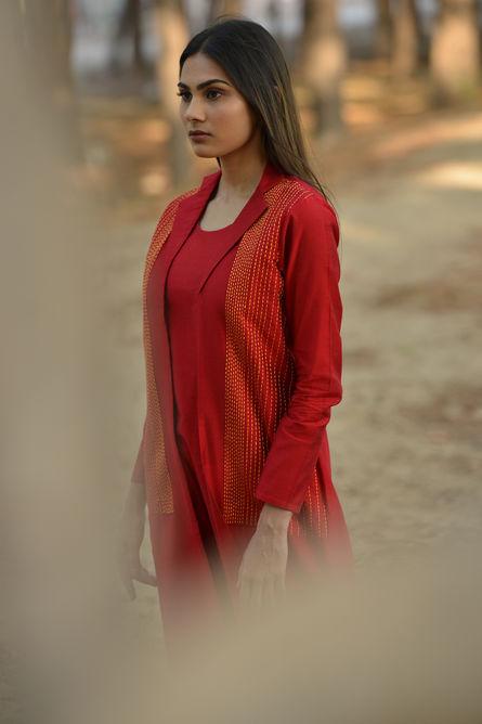 KANTHA JACKET DRESS