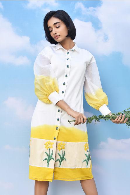 DAFFODIL SHIRT DRESS