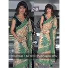 Kmozi Priyanka Beauty Designer Saree, cream