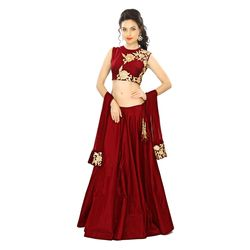 Kmozi New Lahenga Choli Designed, maroon