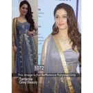 Kmozi Tamanna Net Anarkali Salwar Suit, gray