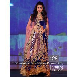 Kmozi Shradhha Craft Designer Lehenga Choli, blue