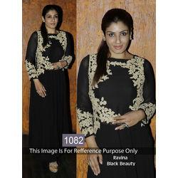 Kmozi Raveena Beauty Online Shopping, black