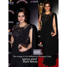 Kmozi Latest Designer Saree, black