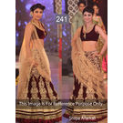 Kmozi Bollywood Replica Shilpa Lehenga Choli, red