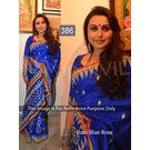 Kmozi Rani Rose Designer Saree, blue