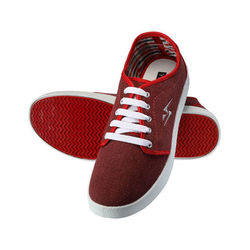 Yepme Men Red Canvas Casual Shoes - YPMFOOT7847, 7