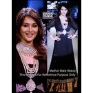 Kmozi Madhuri Dixit In Designer Anarkali Suit Walk At Iijw 2012, black