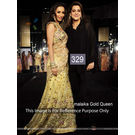 Kmozi Malika Gold Queen Latest Designer Lehenga, gold