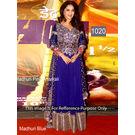 Kmozi Madhuri Fancy Designer Anarkali, blue
