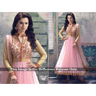 Kmozi Color Fancy Designer Anarkali Suit, light pink