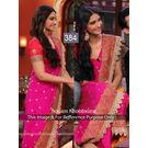Kmozi Sonam Designer Online Saree, pink