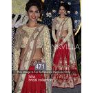 Kmozi Isha Bridal Collection Latest Design Lehenga, red