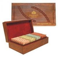 Organic India Super Deluxe Wooden Gift Box