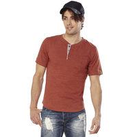 DUSG Must Have Men's T-Shirt Colour: Rust Brown, xxl