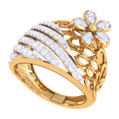 RING (LJRG306), 10, 18k, hi-vs/si