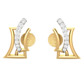 EARRING (LJER0002), 14k, hi-vs/si
