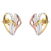 EARRING (LJER0074), 14k, ef-vvs