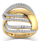 RING (LJRG025), 8, 14k, hi-vs/si