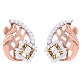 EARRING (LJER0386), 14k, ef-vvs