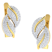 EARRING (LJER0028), 18k, hi-vs/si