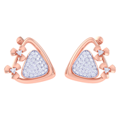 EARRING (LJER0413), 18k, hi-vs/si