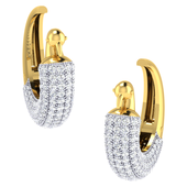 EARRING (LJER0010), 18k, hi-vs/si