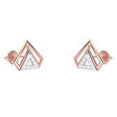 EARRING (LJER0045), 18k, hi-vs/si