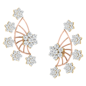 EARRING (LJER0210), 18k, hi-vs/si
