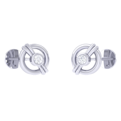 EARRING (LJKTP013), 14k, hi-vs/si