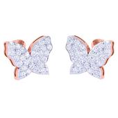 EARRING (LJKTP034), 18k, ef-vvs