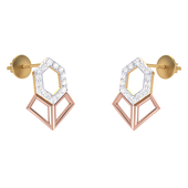 EARRING (LJER0114), 18k, hi-vs/si