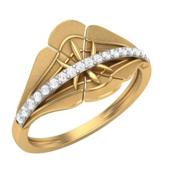 RING (LJRG031), 8, 14k, hi-vs/si