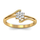 RING (LJRG085), 12, 18k, hi-vs/si