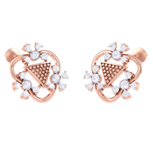 EARRING (LJER0395), 18k, hi-vs/si