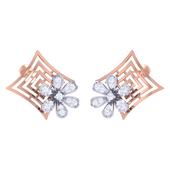 EARRING (LJER0385), 14k, hi-vs/si