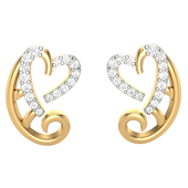 EARRING (LJER0101), 14k, hi-vs/si