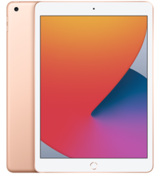APPLE IPAD 10.2 (2020),  gold, wifi, 32gb