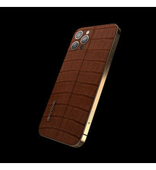 GIVORI APPLE IPHONE 12 PRO MAX ALLIGATOR, 5g,  cigar, 256gb