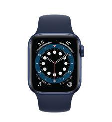 APPLE WATCH SERIES 6 GPS,  blue aluminium navy sport band, 40mm