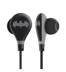 EARPHONE ULTRA BASS WITH MIC,  batman black