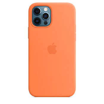 APPLE iPHONE 12| 12 PRO SILICONE CASE WITH MAGSAFE,  black