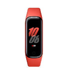 SAMSUNG GALAXY FIT 2 FITNESS TRACKER,  red