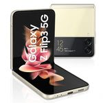 SAMSUNG GALAXY Z FLIP3 5G,  cream, 256gb