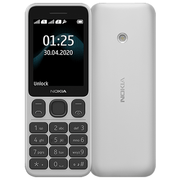 NOKIA 125 TA-1253 4MB 2G DS,  white
