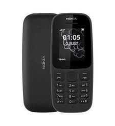 نوكيا 105 (2017),  أسود, Dual SIM