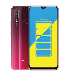 vivo Y15 64GB DS 4G,  burgundy red