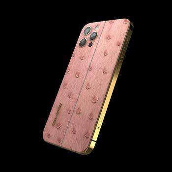 GIVORI APPLE IPHONE 12 PRO MAX OSTRICH,  mink, 256gb, 5g