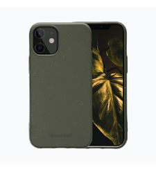 DBRAMANTE IPHONE 12 MINI BACKCASE GRENEN CLASSIC BIODEGRADABLE,  dark olive green